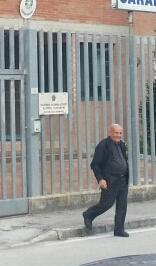 Il parroco di Seppio don Mario Cardona