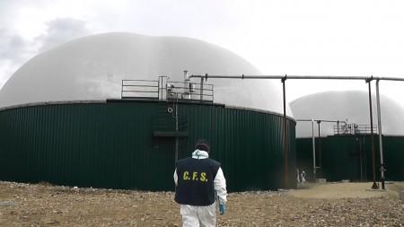 Sopralluoghi nelle centrali a biogas