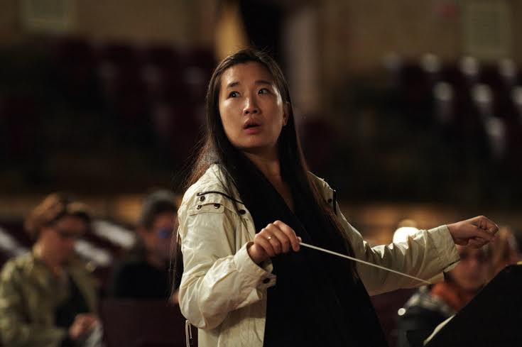 La direttrice d'rochestra Eun Sun Kim
