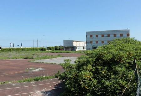 L'area dell'ex liceo a Fontespina