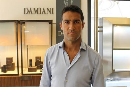 Il titolare della gioielleria Matteo Cartechini