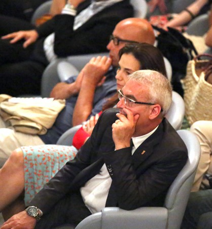 In platea anche il sindaco Romano Carancini