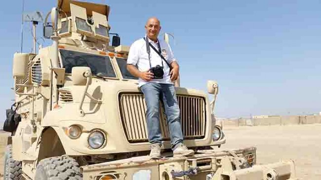 Guido Picchio in Afghanistan