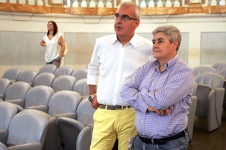 Il sindacoRomano Carancini insieme alla presidentessa della Maceratese Maria Francesca Tardella