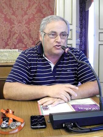Il presidente della Pro Loco di Macerata Aldo Tiburzi