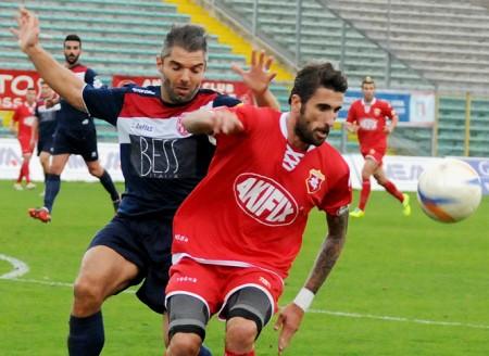 L'attaccante Daniele Degano