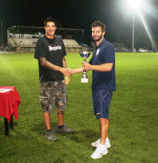 Giorgio Fabbroni premia capitan Bnefatto