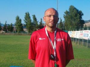 Il nuovo allenatore del Camerino Giorgio Micarelli