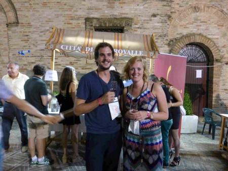 Una giovane coppia olandese entusiasta dell'iniziativa