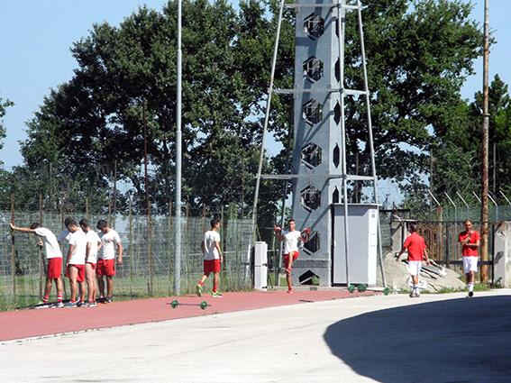 La Maceratese stamattina si è allenata all'Helvia Recina dopo essere andata via da San Severino