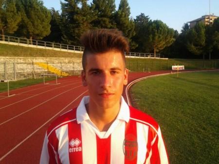 Il giovanissimo centrocampista Nicola Gagliardini