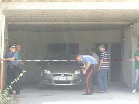 Perquisizione garage Farina (1)