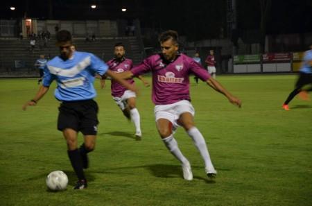 Un'immagine della partita di Coppa Italia tra Tolentino e Trodica