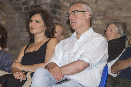 Il sindaco Romano Carancini e l'assessore Stefania Monteverde