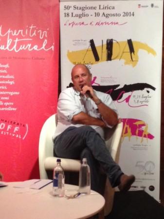 Federico Moccia, ospite agli Aperitivi Culturli