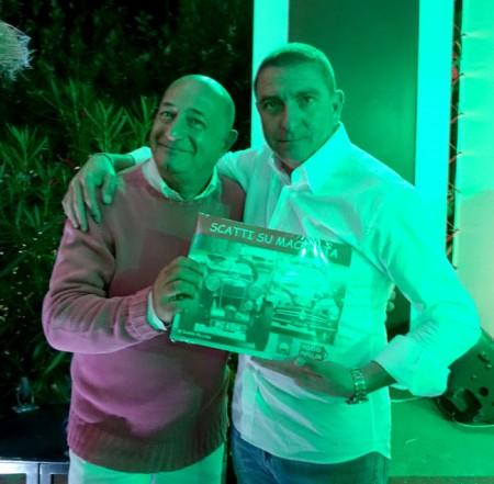 Il presidente del Matelica Mauro Canil con Guido Picchio