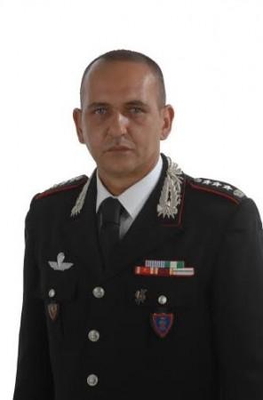 Il colonnello Stefano Di Iulio, comandante provinciale dei carabinieri