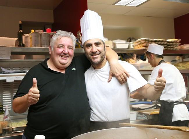 Giorgio Longhi, socio dello Shada e il cuoco dello chalet civitanovese