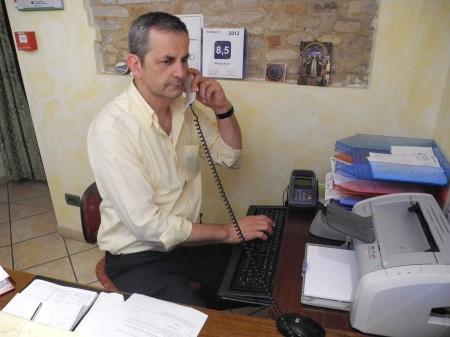 Giorgio Pietrella, proprietario dell'Hotel Arena