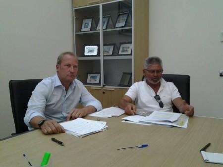 Francesco Mantella Presidente di Atac assieme all'Ad Sergio Cognigni