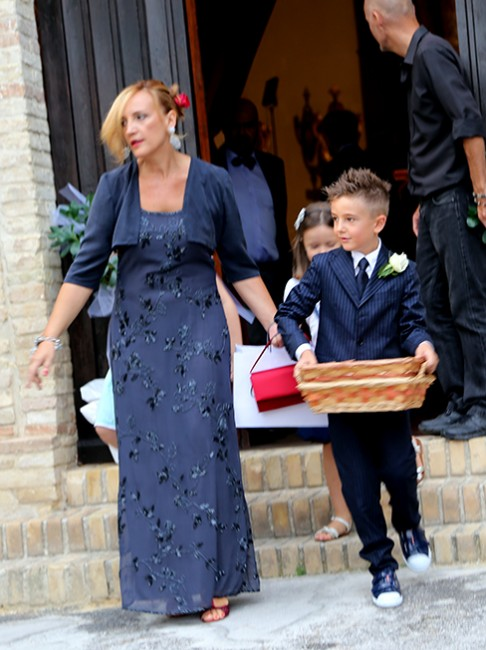 Il vice presidente del Consiglio comunale Deborah Pantana, sorella dello sposo