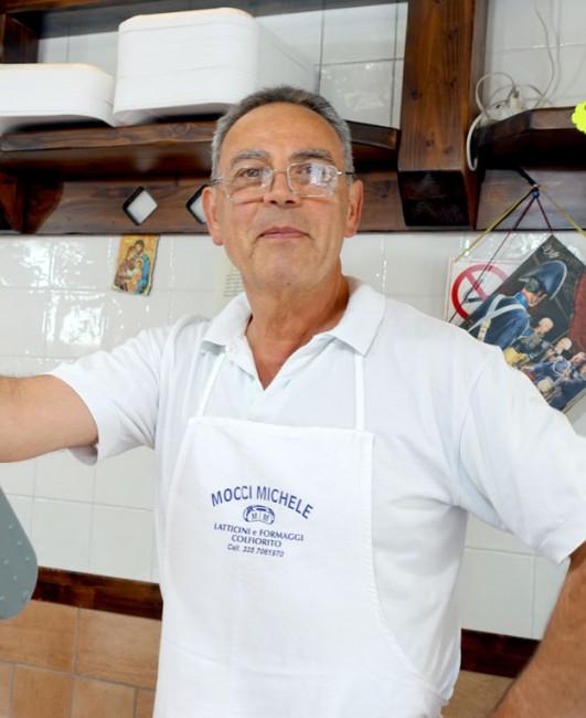 Guglielmo Pierucci nella sua Pasta Fresca Antichi Mastri