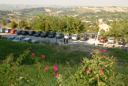 Il parcheggio Garibaldi