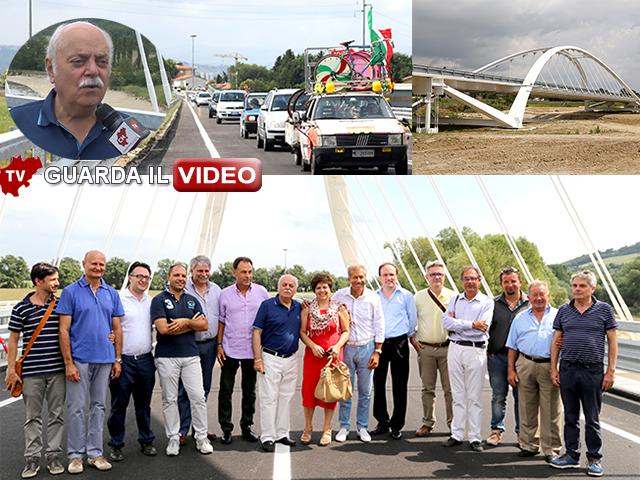 Giovedì l'apertura del ponte (clicca sull'immagine per guradre il video)