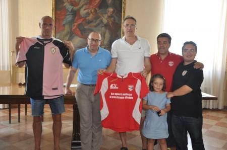 Da sinistra Marinelli, Corvatta, Balboni, Abram e Trementozzi