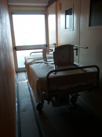 il sesto piano dell'ospedale di Macerata avrebbe dovuto ospitare Oculistica