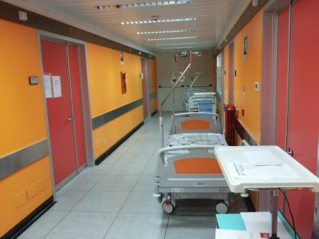 Il sesto piano dell'ospedale di Macerata dove andrà Oculistica