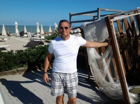 L'imprenditore Giorgio Cimadamore, titolare dello chalet Cima