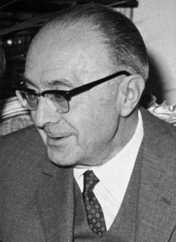 Amedeo Ricci nel 1965