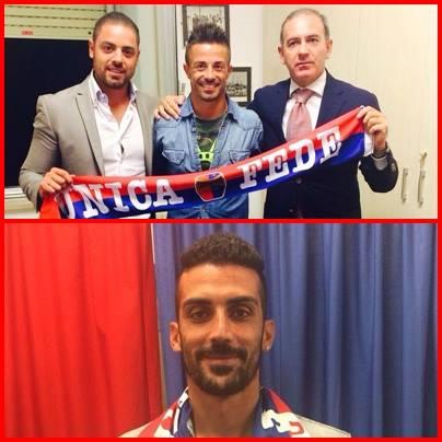 I nuovi acquisti della Civitanovese, il difensore Giuseppe Aquino e l'attaccante Andrea Pintori