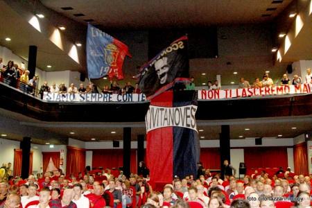 La tifoseria rossoblu è carica per la nuova stagione