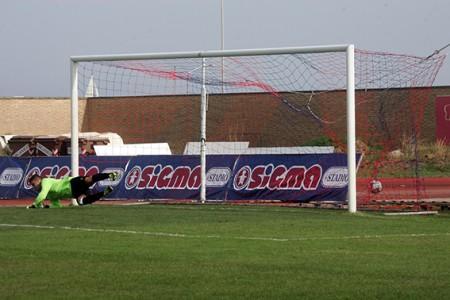 La Civitanovese era passato in vantaggio dopo 8 minuti di gioco con il calcio di rigore trasformato da Amodeo