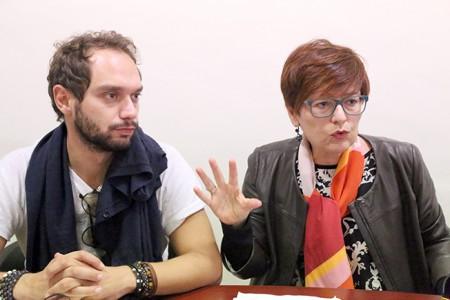 Fabio Massimo Conti e Anna Menghi