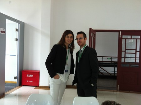Federico Salvatelli e Katiuscia Vaccarini