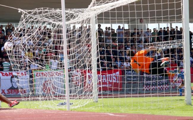 Il gol di Daniele Ferri Marini