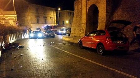 Incidente Porta San Giuliano Macerata (2)