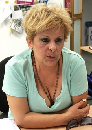 Ivana nella redazione di Cronache Maceratesi