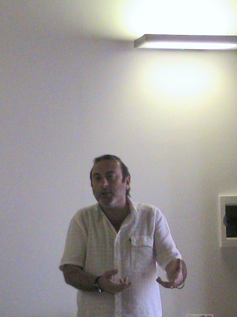 Luca Davide, portiere dell'Hotel House