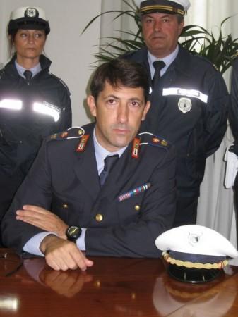 Sirio Vignoni, comandante della Polizia Municipale