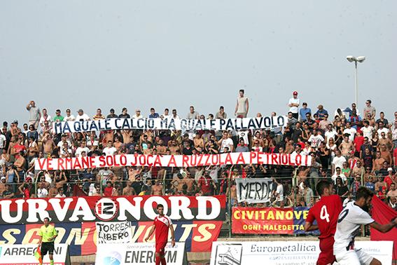 La tifoseria della Civitanovese
