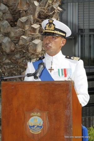 Michele Grottoli, Comandante della Capitaneria di Porto di Civitanova. Oggi il passaggio di consegna dal predecessore Giuseppe Biasco
