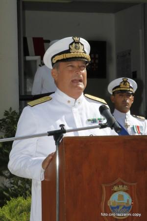 Ammiraglio Francesco Saverio Ferrara, Comandante della Capitaneria di Porto di Ancona