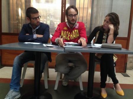 Adriano Capriotti, Marco Guzzini e Maria Maiolati
