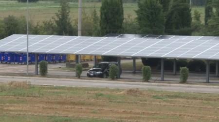 Il fotovoltaico del Cosmari