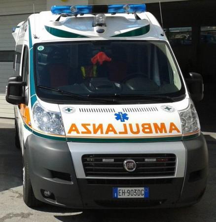 Un mezzo della Croce Verde di Civitanova