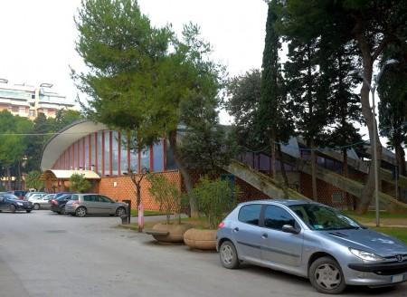 L'ex struttura fieristica al centro della città